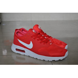 Kp3 Zapatos Nike Air Max Tavas Rojo Para Caballeros