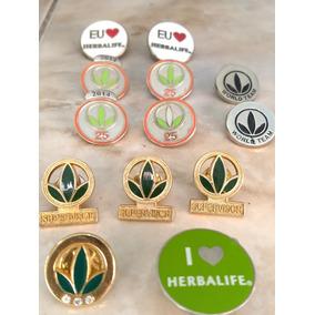 Pin Herbalife Lote 40 Pçs Shake Camisa Blusa Cha Nrg Evs