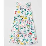 Vestidinho Vestido H&m 8 A 10anos Novo Floral