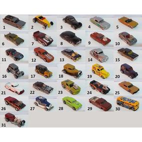 Hot Wheels Hot Rod - Lote Com 7 Carrinhos A Sua Escolha