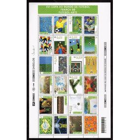 (12229) Selos Brasil 1998 C-2113/36 Futebol Arte Folha
