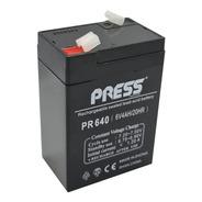 Bateria De Gel 6v 4ah Recargable Ideal Cuatriciclo Niño