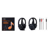 Auricular Inalambrico Hi-fi Para Tv / Pc K3299
