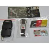 Kit Chaveiro Audi Reino Unido,chave Canivete Audi,bandeira A