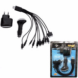 Kit Carregador Usb Universal 14 Em 1 Celulares Iphone Tablet