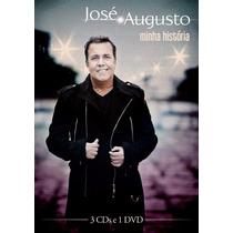 Cd + Dvd José Augusto - Minha História (1 Dvd + 3 Cd´s)