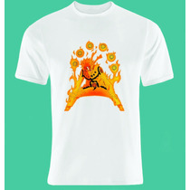Camiseta Personalizada - Naruto Desenho Anime