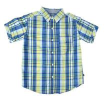 Camisa Nautica Cuadros Vaquera Plus Size Niño Talla 18-20 Xl