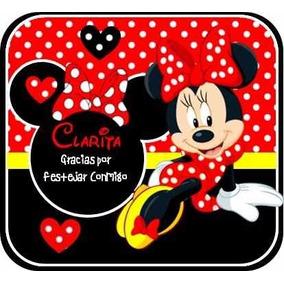 Kit Imprimible Modificable Minnie Roja Cumpleaño Fiesta Bebe