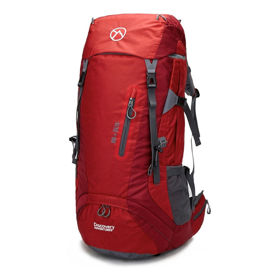 Mochila Mochilero 60+5 Lts Discovery Adventure Camping Viaje