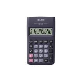 Calculadora Portatil Digital Casio Hl-815l-bk-w Preta
