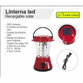 Lampara Tempestad M8861 C 36 Leds Recargable Solar 288 Lumen