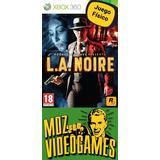 L.a. Noire - Xbox 360 - Físico - Mdz Videogames