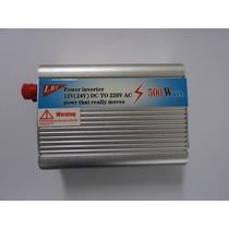 Inversor De Tensão Veicular 500w De Energia 12v Para 220v
