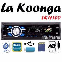 Reproductor De Carro Usb Mp3 Aux Pendrive La Koonga Lkn100