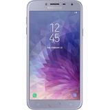 Smartphone Samsung Galaxy J4 Prata Tela 5.5 Android 8.0, Cã
