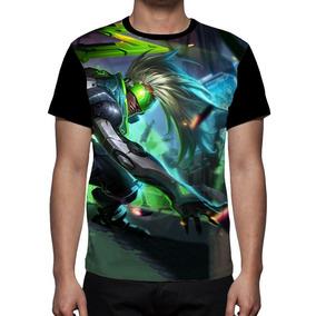 Camiseta League Of Legends Projeto Ekko - Frente