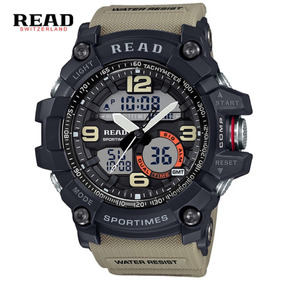 Reloj Militar Analogo Digital