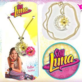 Soy Luna Collar Cadenita Colgante Medallita Dije Con Sol!!!