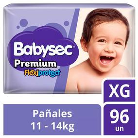 Pañal De Bebe Babysec Premium Talla Xg 96u Tienda Oficial