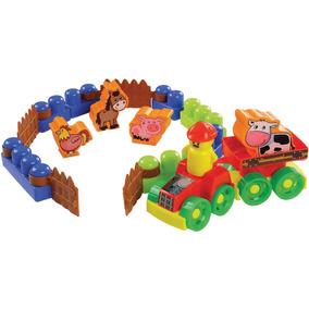 Brinquedo Educativo Box Fazendinha 20pecas Dismat Unidade