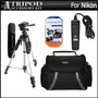 Bundle Kit Trípode Para Nikon D5200 D3200 D3100 D5100 D7100