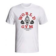 Camiseta Musculação World Gym