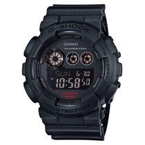 Relógio Casio G-shock Gd-120mb-1dr Militar Preto Nota Fiscal
