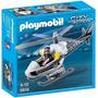 Playmobil 5916 Helicoptero De Policia!!!!