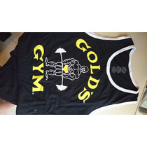 Remera Golds Gym