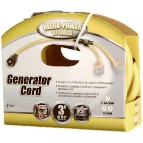 Coleman Cable De 3 Pies De La Cuerda Generador Adaptador,