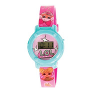Lol Reloj Pulsera Digital En Alcancia Lata Orig Ar1 Lol1087