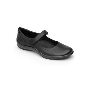 Calzado Zapato Escolar Flexi 58915 Negro Dama Juvenil