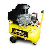 Compresor De Doble Salida Ranger 2 Hp 1500 Wt 115 Psi
