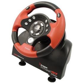 Volante Acteck Xt Pro 4 En 1 Agv-5000 Rojo C/negro