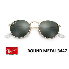 Oculos Rb 3447 Diamantado Ray Ban Round - Óculos no Mercado Livre Brasil 4c35b2a2dd
