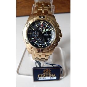 e4aff81e010 Relogio Cronografo Festina F16393 Novo - Relógios no Mercado Livre ...
