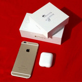 Iphone 6 64gb Gold + Airpods Apple