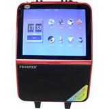 Caixa Amplificada Prosper Bluetooth Usb Dvd Vermelho - 15 P