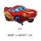 Balão Metalizado Carro Relampago Macquenn - Kit C/15 Balões