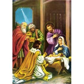 Santinho Milheiro 3 Três Reis Magos Personalize 1000 Oração