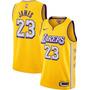 Lakers Amarela - LeBron James LoreSeries 23