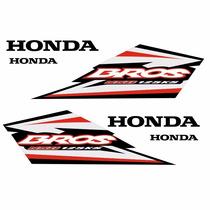 Sticker - Calcomania - Vinil Kit Stickers Honda Bross