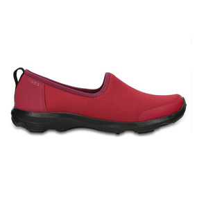 Crocs Mujer Zapatilla Busy Day Stretch Skimmer Plum