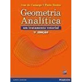 Livro Geometria Analitica Boulos E - Livros no Mercado Livre Brasil 5c3ab8b6554fa