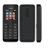 Celular Nokia 105 Dual 900/1800 Preto 1 Chip