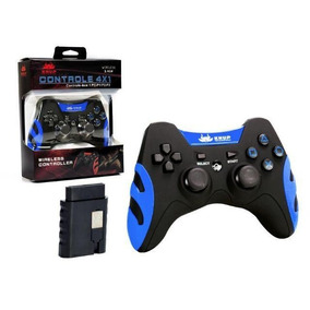 Controle Para Video Game Wireless 4 Em 1 - Play 1,2,3 E Pc