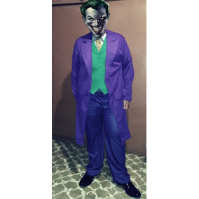 Disfraz Traje Adulto Batman The Dark Knight Joker (guason)