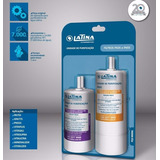 Filtro Refil Kit Duplo Latina Purificador Pa755 - Original