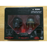 Star Wars Casco Titanium Black Series #6 Death Trooper Rogue